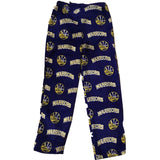 Boys NBA Golden State Warriors Lounge Pants Micro Fleece Sleep Pajamas NEW S-XL