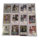 NFL Collectible Autographed Rookie Football Cards Panini Topps & Dunruss