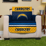 NFL Los Angeles Chargers Reversible Furniture Protector for Recliners
