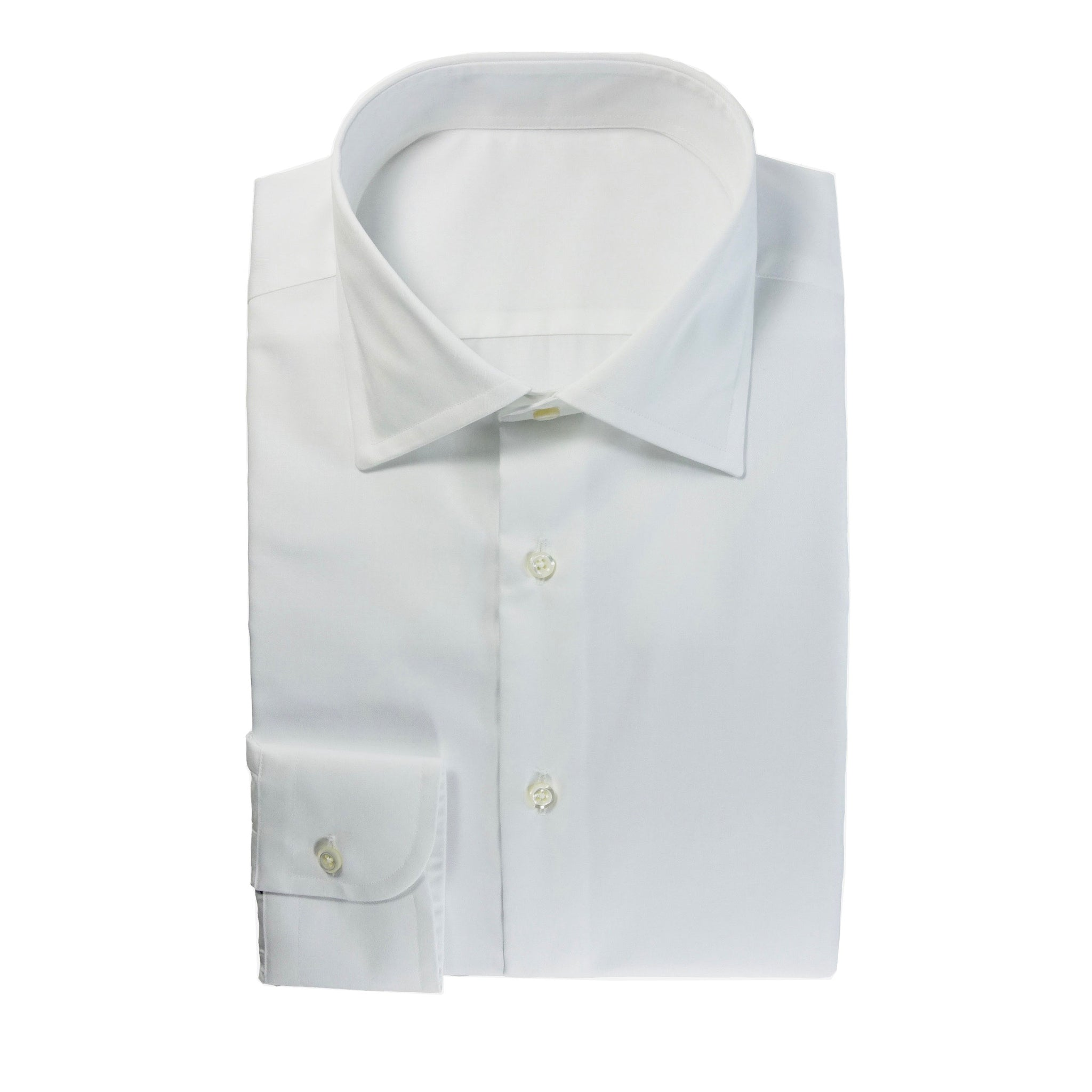Luxury White Twill Shirt