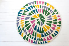 Round and Round Rug - Lollipop