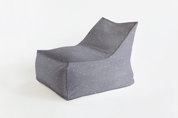Curated Nest: Nurseries and Design - Charming Stars Triangle Chair - Beanbag