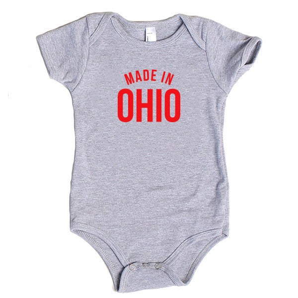 Made in Ohio Onesie