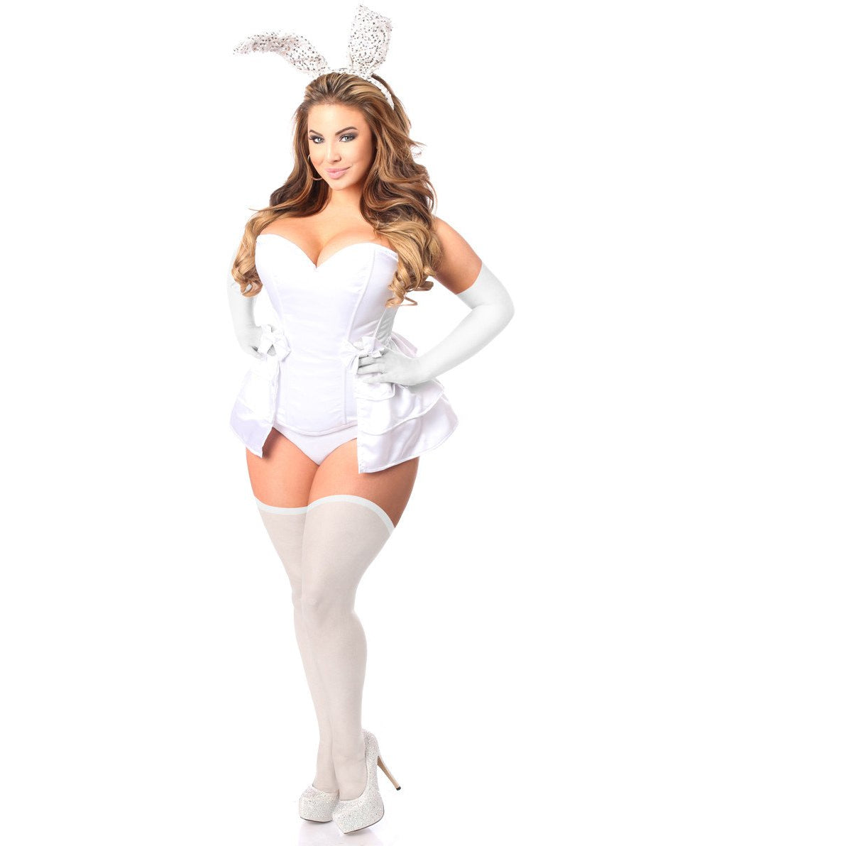 Bunny White Costume - PlaythingsMiami