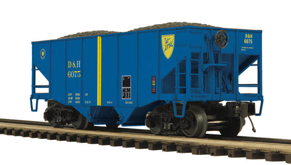 "MTH 20-97303 - 2-Bay Fish Belly Hopper Car ""Delaware & Hudson"""