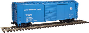 "Atlas O 2002220 - Trainman - 40' Sliding Door Box Car ""U.S. Air Force"""