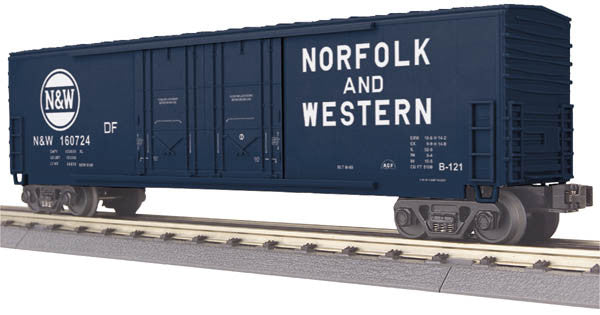 "MTH 30-74757 - 50' Double Door Plugged Boxcar ""Norfolk & Western"""