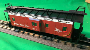 "Atlas O 2001743 - Trainman - Bay Window Caboose ""Nickel Plate Road"" - New # for 2018"