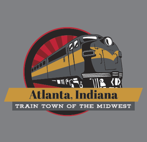 "Muffin Ware - ""Atlanta, Indiana"" Adult Hooded Sweatshirt"