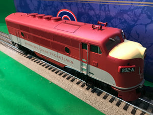 "Atlas O 1647-1 - EMD F-3 Locamotive (A Unit) ""M-K-T"" 202A - Phase 2"