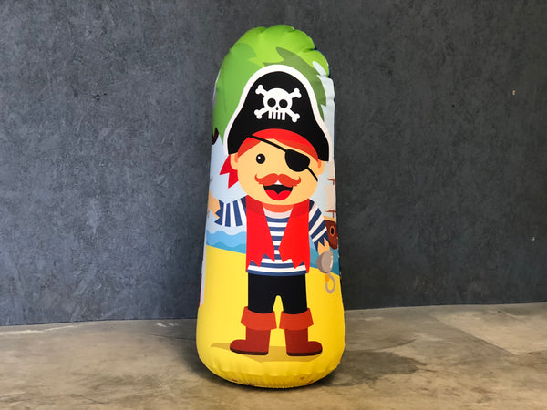 Inflatable Punching Bag Personalized Kids Gift Pirate Toy