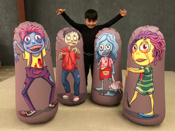 Inflatable Punching Bag Kids Gift Zombie Toy Lost Boy