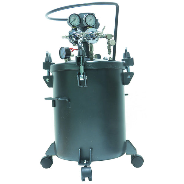 Performance Series 5 Gallon Paint Pressure Tank with Pneumatic Agitation (mixer)