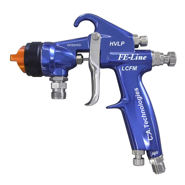 C.A. Technologies FE-Line LCFM (Low CFM) HVLP Pressure Feed Spray Gun - CAT Pack