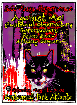 AGAINST ME / Ghostland Observatory