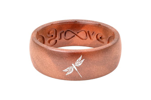 Silicone Ring Groove Custom | Copper Dragonfly Original