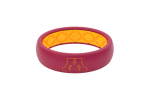 Minnesota Gophers Collegiate Silicone Rings Thin