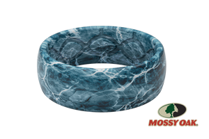 Mossy Oak Spindrift Camo Silicone Rings
