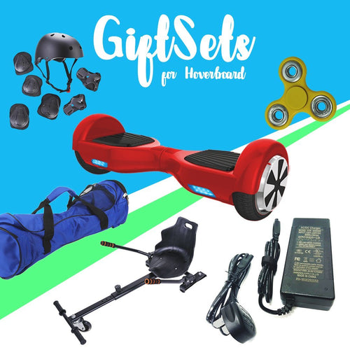 6.5  Red classic Hoverboard + Hoverkart Bundle - 30% sale Offer - Segwayfun