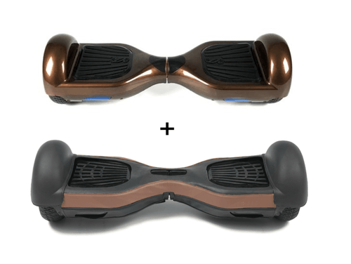 2019 Limited Edition Chocolate CLASSIC 6.5inch SWEGWAY HOVERBOARD - Protective Leather case - Segwayfun