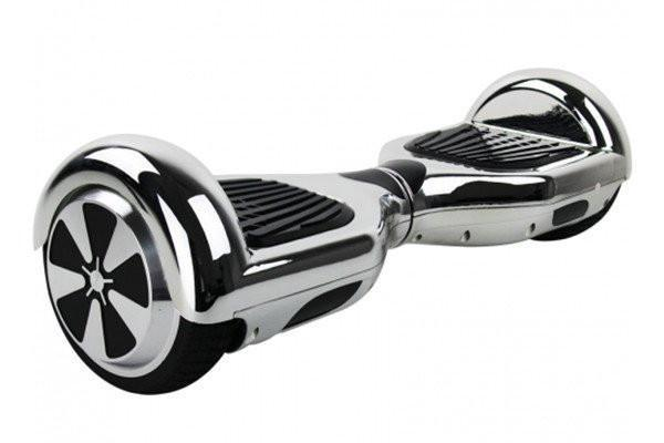 Silver Classic Bluetooth Segway Chrome Hoverboard for Sale with Samsung Battery - Segwayfun