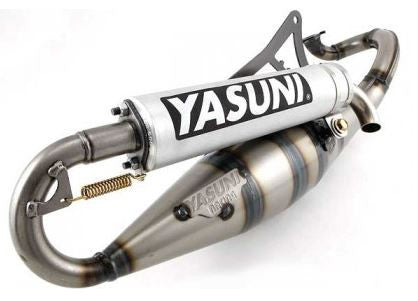 Yasuni R Exhaust For Yamaha Zuma '02-'11 Zuma '89-'01 and Aprilia SR50 - ScooterSwapShop