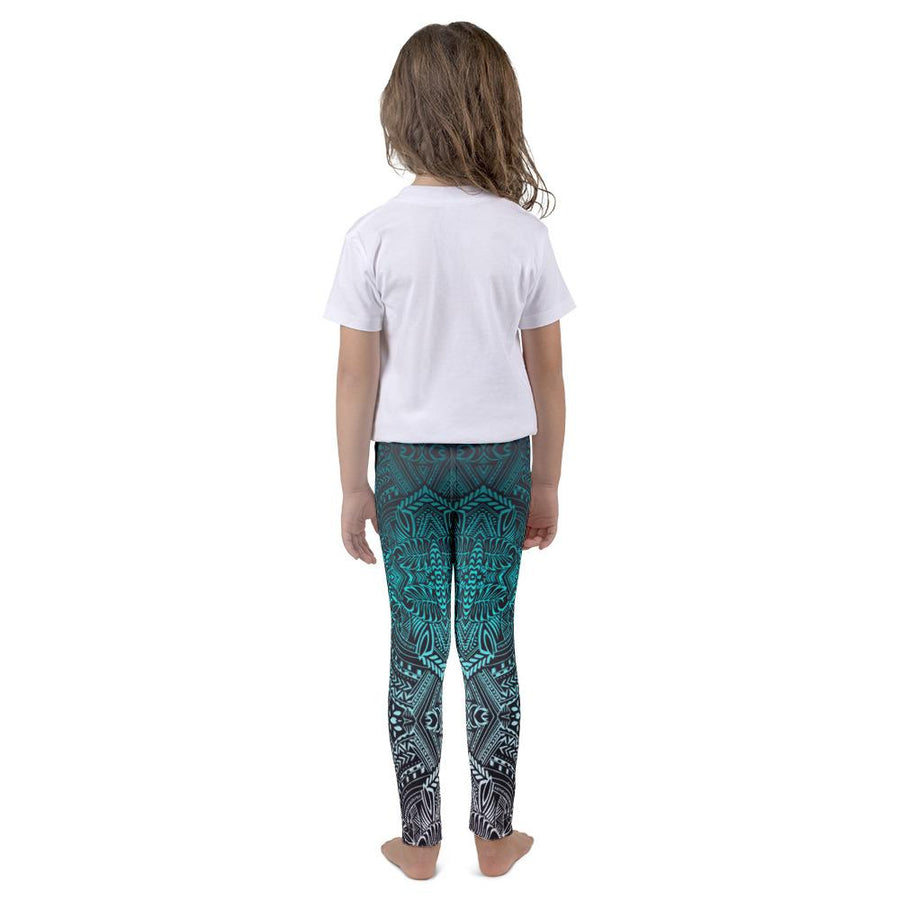 Kid's Hanau Tattoo Leggings (Neon)