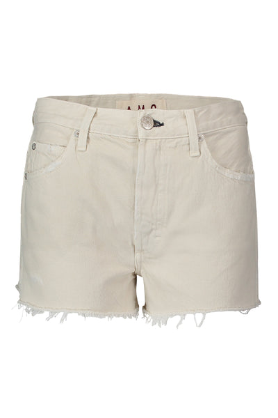 Loverboy Cut-offs <br> Vintage White