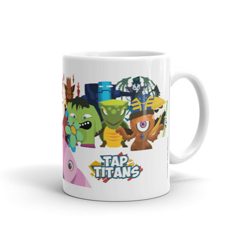 Kandy Klaus and the Gang Tap Titans Mugs