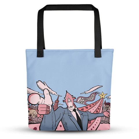 I Want You Business Fish Tote Bag