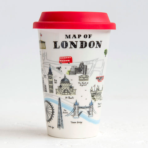 Alice Tait Landscape London Ceramic Travel Mug
