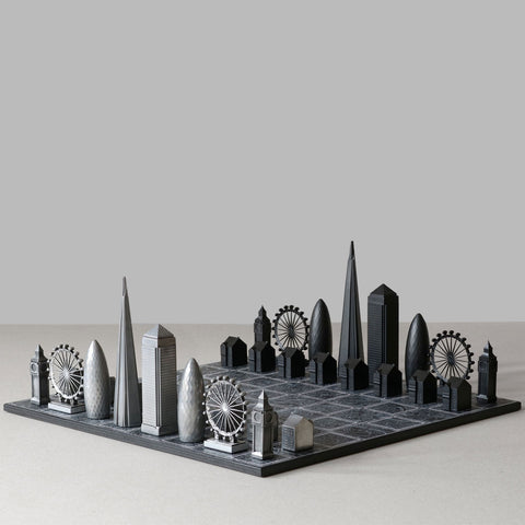 Skyline London Premium Metal Resin Chess Set