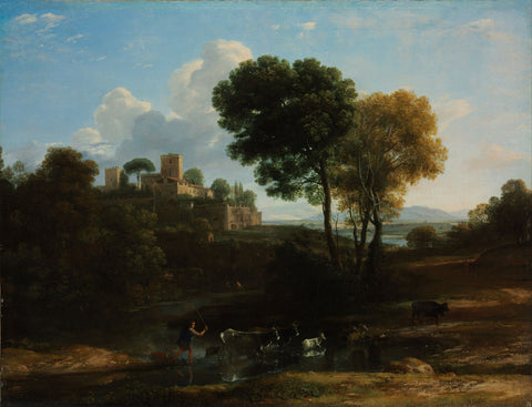 Claude Lorrain - Villa in the Roman Campagna