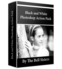 Black & White Photoshop Action Pack
