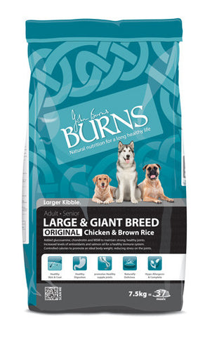 Burns Large Breed - Chicken & Brown Rice 15kg