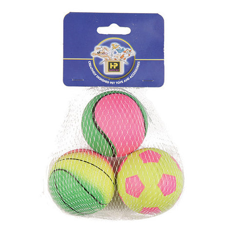 HAPPY PET 3 PACK BALL