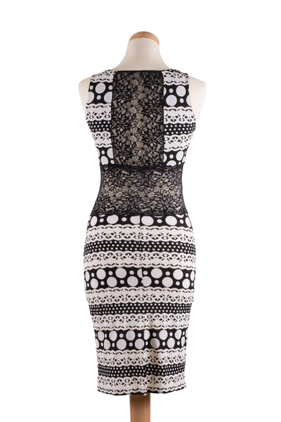 Bodycon Tango Dress with Lace