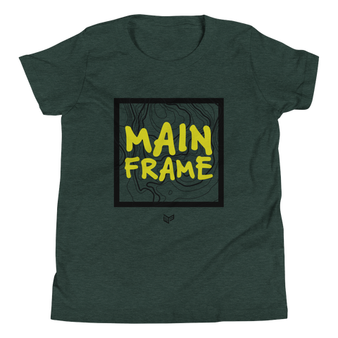 Terrain Short-Sleeve Youth T-Shirt  Mainframe USA