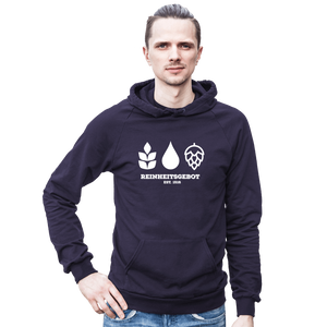 German Purity Law Hooded Sweatshirt - Brew Pup  - 4