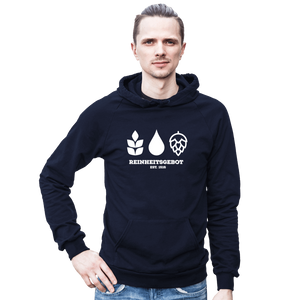 German Purity Law Hooded Sweatshirt - Brew Pup  - 2