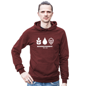 German Purity Law Hooded Sweatshirt - Brew Pup  - 3