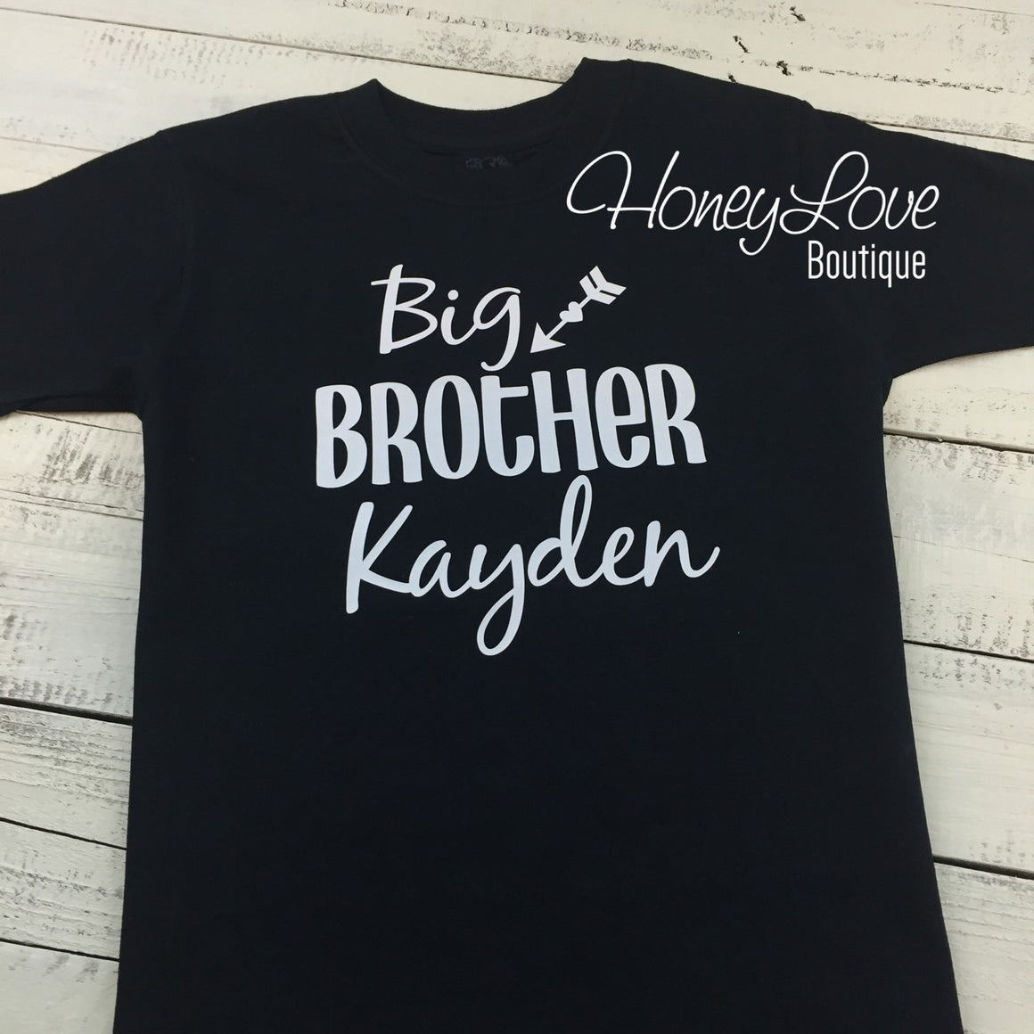 PERSONALIZED Brother Bodysuits and Shirts - HoneyLoveBoutique