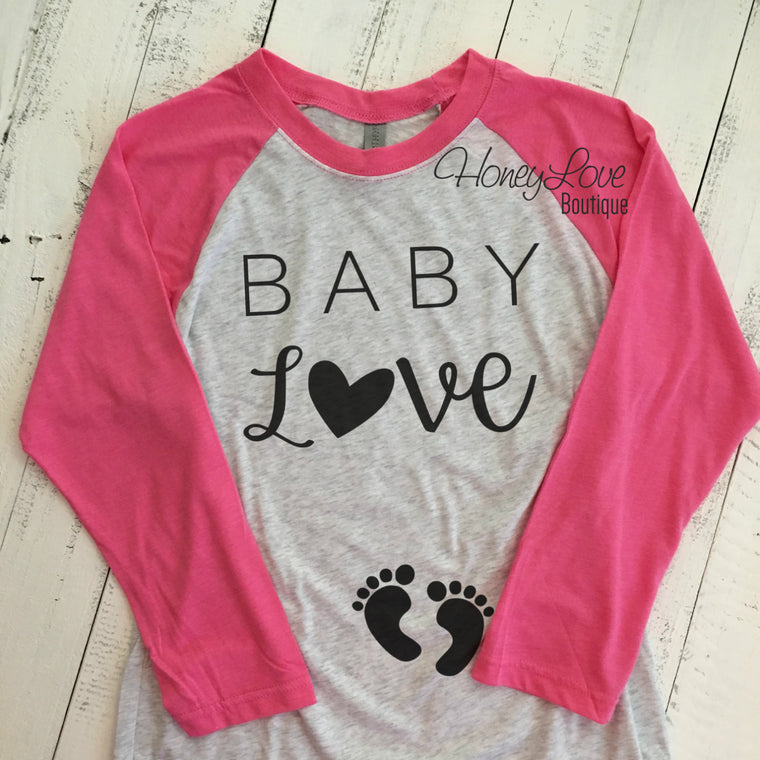 Baby Love - Pregnancy Announcement - HoneyLoveBoutique