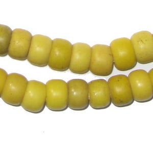 Yellow Padre Beads - The Bead Chest