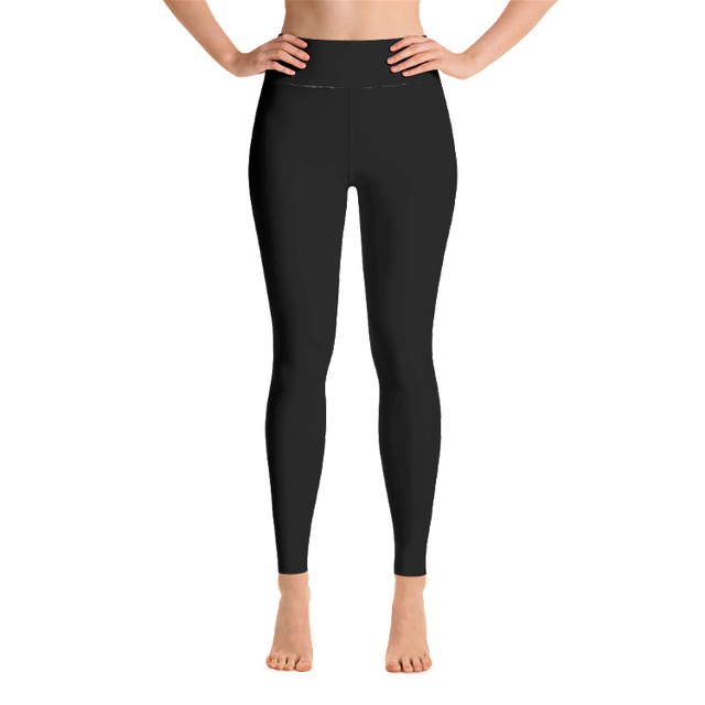 Black Yoga Leggings - Infused Thoughts