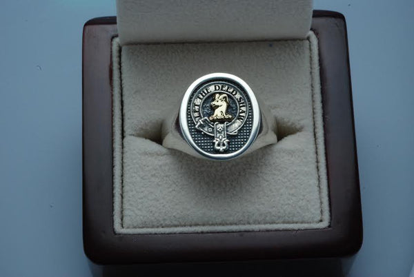 Clan Crest XL Ring