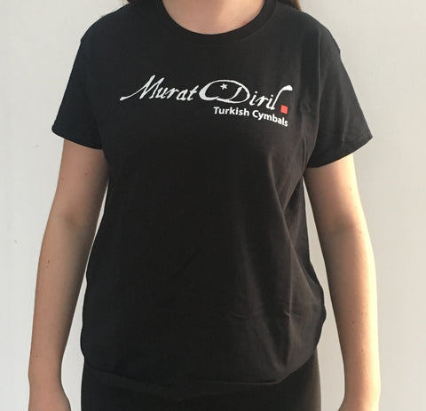 Women's T-Shirt Black - Medium (TSBLWM)
