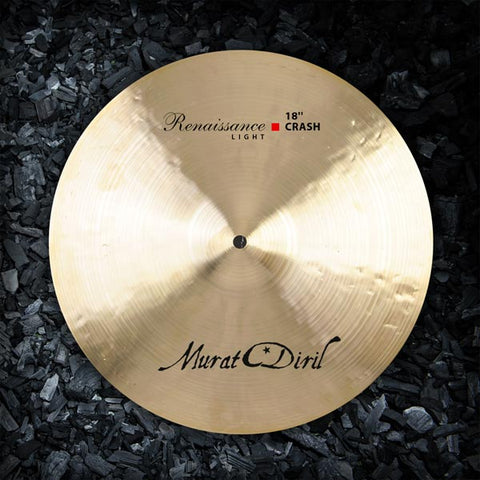 "Murat Diril 20"" Light Crash Cymbal Canada RL2018"