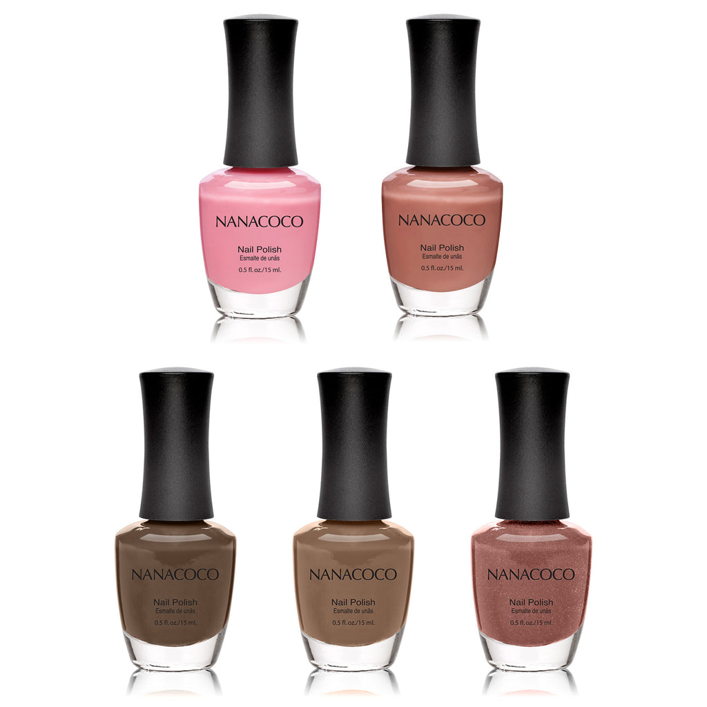 Enchanted Collection: Five Piece Nail Polish Set