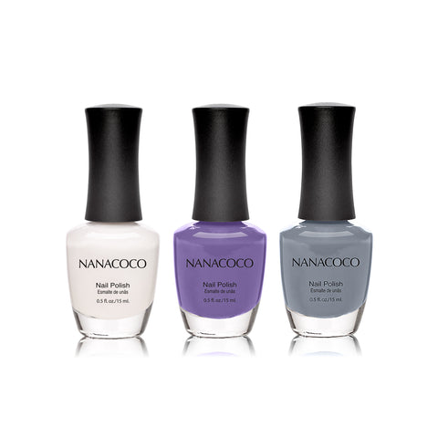 "Nanacoco ""Best of My Love"" 3 Piece Nail Polish Set"